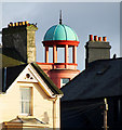 J5082 : Cupola and chimneys, Bangor by Rossographer