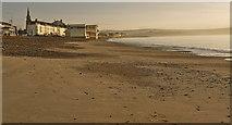SY6879 : Sunrise on Weymouth beach by sue hogben