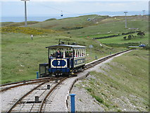 SH7683 : Great Orme Tramway by Josie Campbell