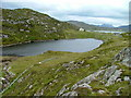 NG1596 : Loch na Tighean by Dave Fergusson