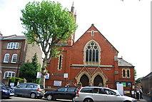 TQ2673 : Earlsfield Baptist Church by N Chadwick