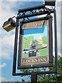 SP6989 : Foxton Locks Inn sign by Oast House Archive