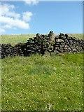 SE0125 : Stile on Hebden Royd Footpath 62, Mytholmroyd by Humphrey Bolton