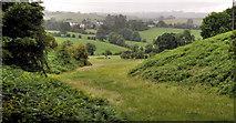 J3267 : Fields near the Giant's Ring, Belfast by Albert Bridge