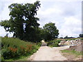 TM1640 : Footpath & entrance to Wherstead Park by Adrian Cable