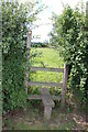 SJ9926 : Stile for Footpath to Station Road, Hixon Industrial Estate, Hixon, Staffordshire by Mick Malpass