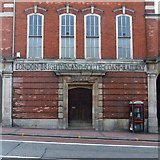 TQ2775 : London, Brighton & South Coast Railway parcels office, Clapham Junction Station by Stefan Czapski