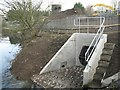 SP3065 : New outfall, Severn Trent site, Prince's Drive by Robin Stott