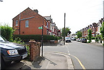 TQ2572 : Lucien Rd off Haslemere Avenue by N Chadwick