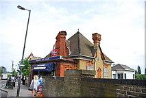 TQ2572 : Wimbledon Park Station by N Chadwick