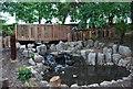 TQ2472 : Waterfall garden, Wimbledon Park by N Chadwick