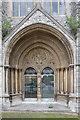 TQ1073 : Doorway St Catherine's House by John Salmon