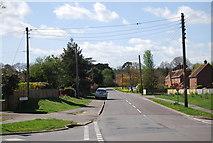 TQ8115 : Church Lane (A28), Westfield by N Chadwick