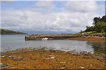NM4099 : Isle of Rum - Old Slipway by Ashley Dace