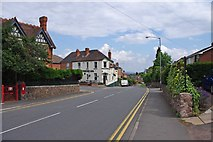 SO7845 : Barnard's Green Road (B4211), Great Malvern by P L Chadwick