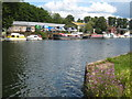 TQ1369 : Port Hampton boatyard on Platt's Eyot by Rod Allday