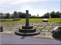 SD7513 : Affetside Cross and Millennium Green by David Dixon