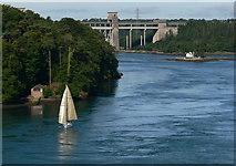 SH5571 : Pont Britannia by Mat Fascione