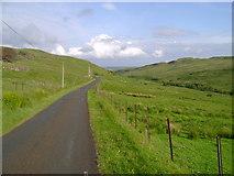 NS3262 : Road below Heathfield by Mark Nightingale