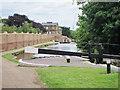 TQ1479 : Beside lock 92, Hanwell Locks by Oast House Archive