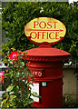 TQ3088 : Post Office direction sign, Crouch End by Julian Osley