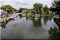 TL3706 : River Lee Navigation, Broxbourne, Hertfordshire by Christine Matthews