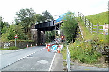 SO2508 : New bridges over Varteg Road, Blaenavon by Jaggery
