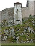 NU1341 : Lindisfarne Castle, Holy Island. Detail by Alexander P Kapp