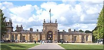 SP4416 : The East gate of Blenheim Palace by Len Williams