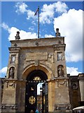 SP4416 : The East Gate, Blenheim Palace by Len Williams