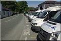 SH7157 : Plas-y-Brenin minibuses by Stephen McKay