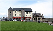 G7157 : Pier Head Hotel, Mullaghmore by Eric Jones