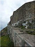 NU1341 : Footpath from Lindisfarne Castle, Holy Island by Alexander P Kapp