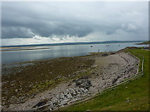 NU1341 : Foreshore near Castle Gate, Holy Island by Alexander P Kapp