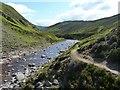 NN9879 : River bend by James Allan