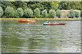 SU7781 : 'Three Men in a Boat' by Philip Halling