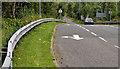 J3877 : Slip-road, Holywood Exchange flyover (4) by Albert Bridge