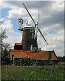 TG0444 : The Windmill at Cley next the sea by Dave Croker