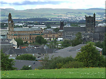 NS4863 : Paisley from Saucel Hill by Thomas Nugent