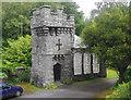 NY3701 : Wray Castle summerhouse by Ian Taylor