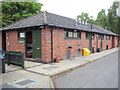 TQ2955 : Caravan Club site Alderstead Heath facilities block by Paul Shreeve