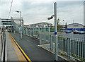 TQ8789 : Southend Airport railway station by John Allan