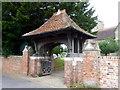 SZ2992 : Lych gate, All Saints' Church by Maigheach-gheal