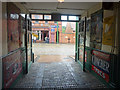 NZ2154 : Garage entrance, Beamish Museum by Ian Taylor
