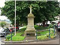 NU0501 : Rothbury war memorial by Rose and Trev Clough
