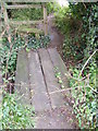 TM4365 : Footbridge of the footpath to Moat Road & Pretty Road by Adrian Cable