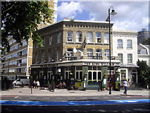 TQ2977 : The King William IV Public House, Grosvenor Road, Pimlico by PAUL FARMER