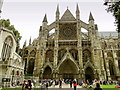 TQ3079 : North Transept, Westminster Abbey by Philip Pankhurst