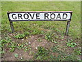 TM4160 : Grove Road sign by Adrian Cable