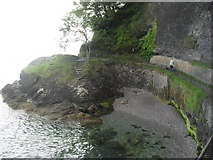 SX9265 : Part of the path from Oddicombe beach to Babbacombe beach by andrew auger
